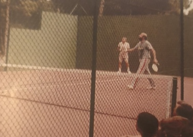 Prima partita di Padel a Barcellona, 1984